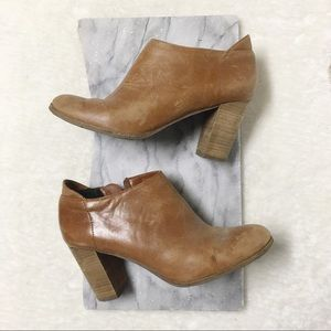 Dolce Vita Ankle Bootie Heels Camel Tan Size 9